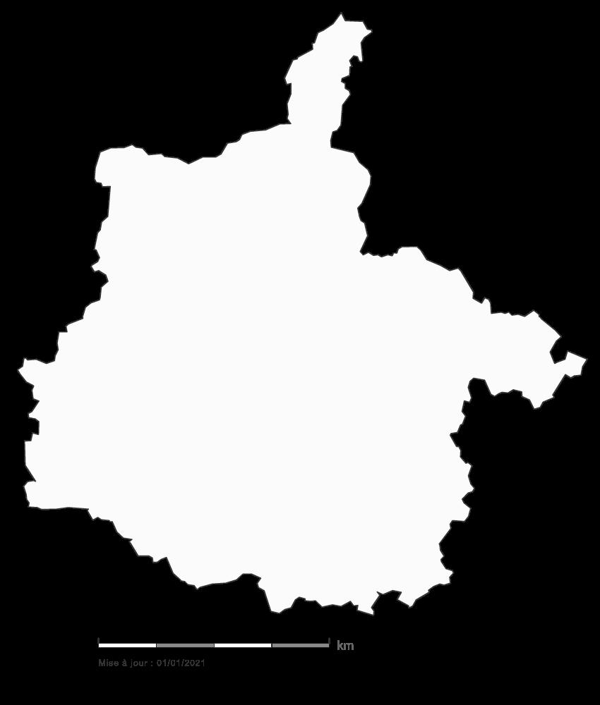 Carte gratuite des Ardennes