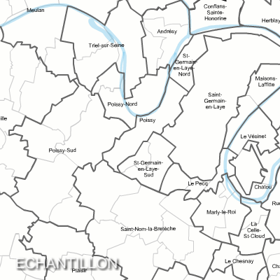 Carte des anciens cantons du centre val de loire for Legens materiaux anciens indre et loire