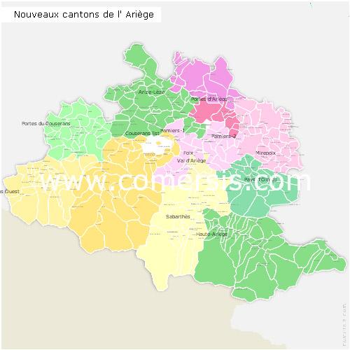 Ajouter au panier nouveaux cantons de l' Ariège pour Word et Excel.