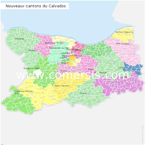 Calvados France Map.Maps Of Calvados