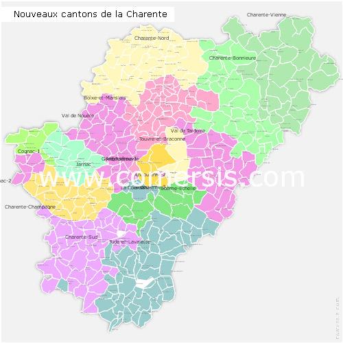 Ajouter au panier nouveaux cantons de la Charente pour Word et Excel