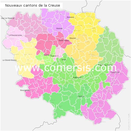 Ajouter au panier nouveaux cantons de la Creuse pour Word et Excel