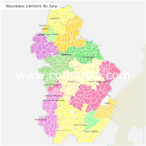 Map Of France Jura.Maps Of Jura