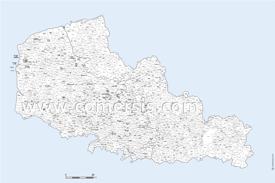 Carte Nord Pas De Calais Avec Villes.Carte Des Villes Et Communes Du Nord Pas De Calais