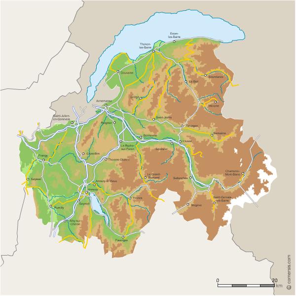 Haute Savoie Carte | Rangement Bureau DIY