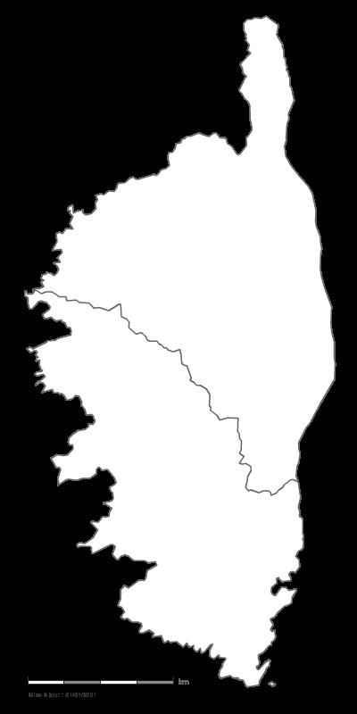 Carte Corse Ajaccio.Carte Gratuite De Corse